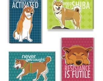 Shiba Inu Magnet Set II - Shiba Inu Magnets