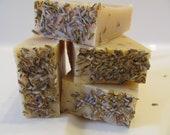 SOAP LAVENDER - LEMONGRASS  Soap Natural. Organic Soap. Cold Process. Goat Milk Soap. Handmade Soap Natural.