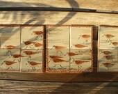 Sandpiper Tiles - Set of 10 RESERVED