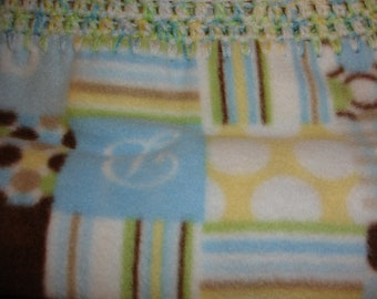 Baby Patchwork Fleece Blanket