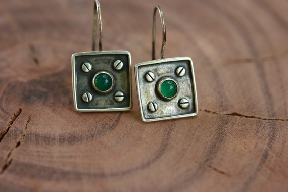 Earrings, Silver Earrings, Handmade 925 Silver Earrings