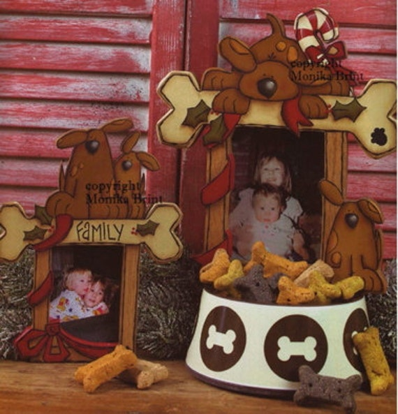 My Puppy and Me Photo Frames-Pet Lovers Picture Frames-Dog Ornaments-Stocking Stuffers-Gift Ideas-Hand Made