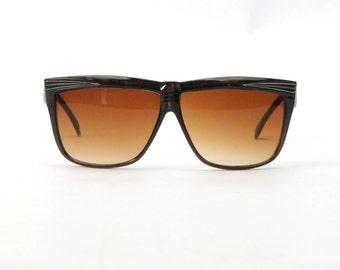 1970's/1980's Oversized Sunglasses Vintage Eyewear Tortoise