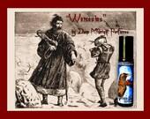 WENCESLAS Perfume Oil:  Soft pine, sweet sugars, white cocoa, oakwood fire, spices, Holiday perfume, Christmas, Yule,