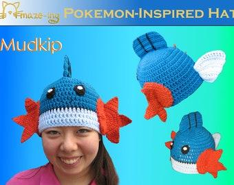 Amaze-ing Mudkip-Inspired Hat - Made to Order