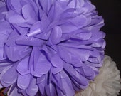 One Pommagic tissue paper poms, Wedding decorations, Baby shower, Wedding anniversary, Bridal party, Party decorations