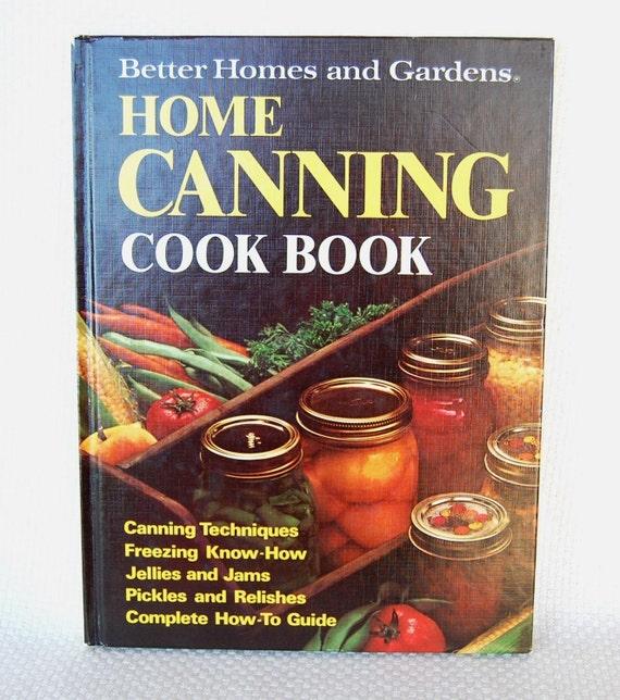 Vintage Canning Cookbook Better Homes Gardens Home Canning