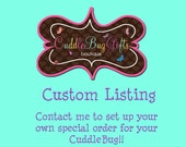 Custom Order for Laurin