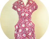 1950's Liberty Floral Print Day Frock