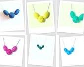 Choker - Bright Wire Mesh Globe Necklace Choker, Silver Chain