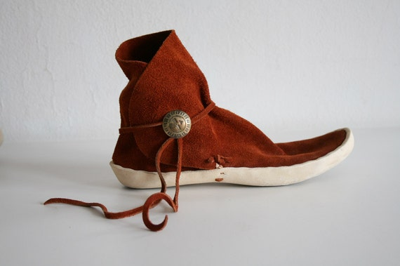 RESERVED FOR delsitwotimes High Top Moccasins