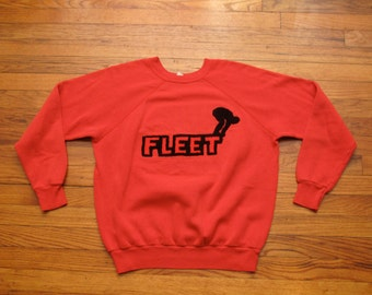 vintage swim team sweatshirt