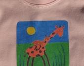 Gorgeous African Organic Baby T-shirt