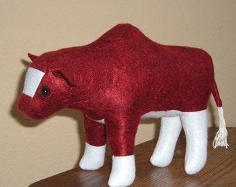 Felt Maine Anjou Bull