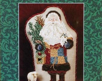 Shenanigans Crabapple Santa Stocking With Embellishment Pack from Just Nan Inc.