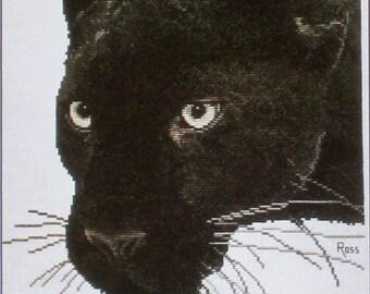 Panther - Ross Original Cross Stitch Design