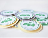 Tractor Goody Bag Tags