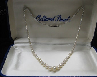 Pearl Necklace, Cultured