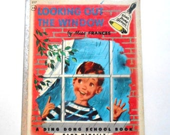 Looking Out the Window, a Vintage Children's Book