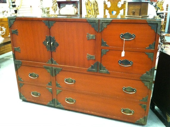 Asian Style Cabinet / Chest by Thomasville