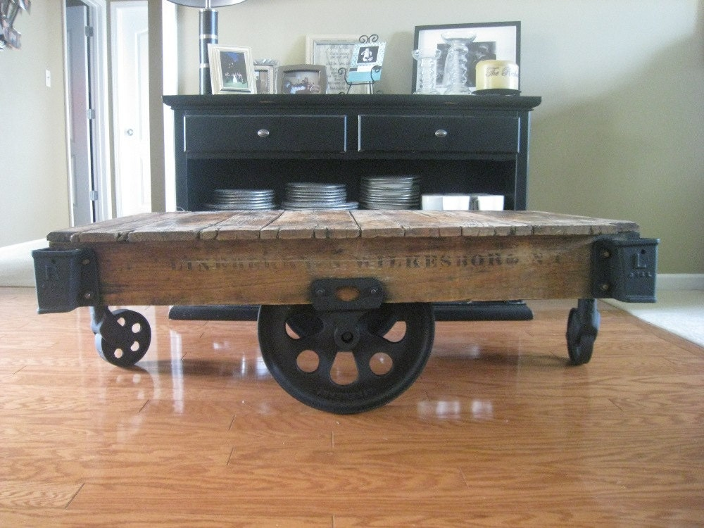 Antique Coffee Table End Table From Lineberry Thomas And