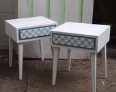 Mid Century End Tables Nightstands ModernMates by Leslie Diamond