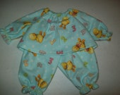 Baby Alive  And Waldorf Doll Clothes Adorable Pajamas