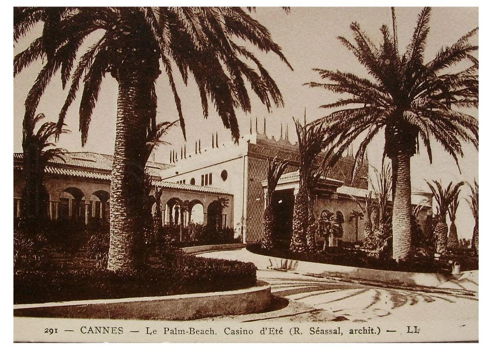 Casino palm beach cannes france