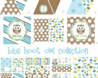 Boys Owl Birthday, Owl Baby Shower, Owl Birthday Decorations, Owl Baby Shower Decorations Owl Party Decorations Boy Birthday Boy Baby Shower