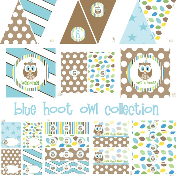 owl party decorations owl birthday decorations baby bird owl baby