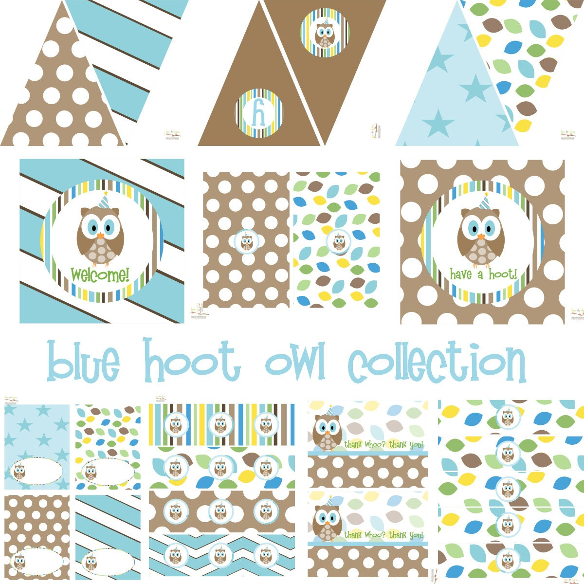 boys owl birthday owl baby shower owl birthday decorations