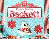 Winter ONEderland Winter Wonderland Happy Birthday Sign - Gwynn Wasson Designs PRINTABLES