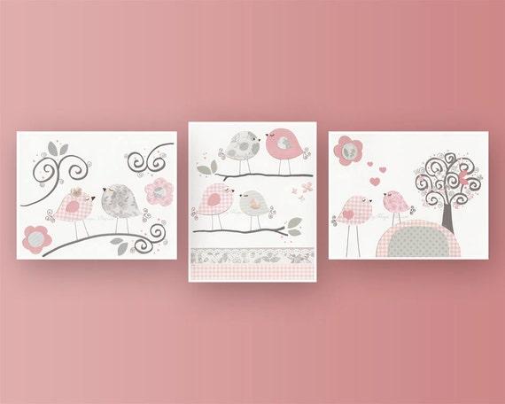 Baby girl nursery decor girl nursery art nursery wall art for Baby girl wall decoration