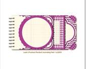 Lush 2 Fuchsia Journaling Pad by My Mind's Eye 18 sheets