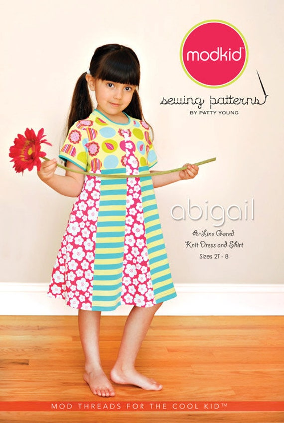 ABIGAIL Modkid Sewing Pattern by Patty Young - Free US Shipping
