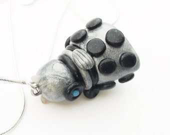 Doctor Who Dalek Necklace Multiple Colors Available
