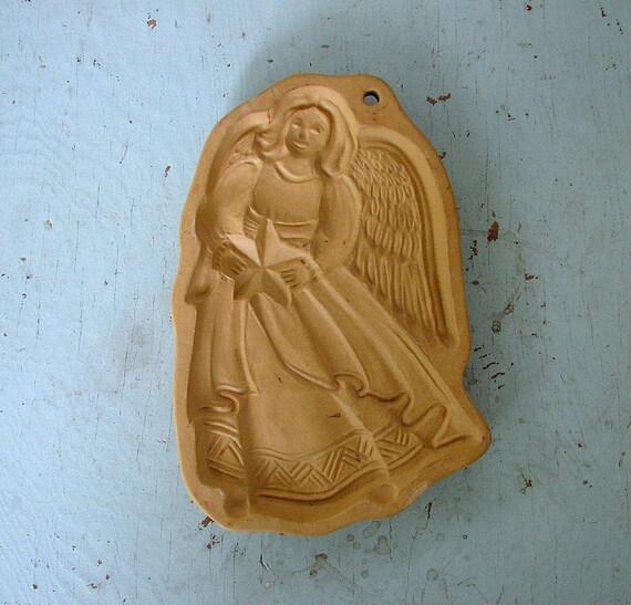 big ole angel mold -- brown bag cookie art 1991
