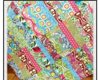 PDF Quilt Pattern Just tween us Girls Fat Quarter Carlene Westberg Designs