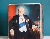 Winston Churchill Tin