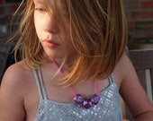 little livly (purple pearlescent radiant orchid geometric cubes)