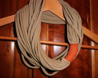 Infinity Circle Scarf - 25-inch - Sand Color - Back To School