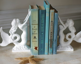 Mermaid Gift Bookend or Door Stop Lovely Little Mermaid