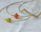 The Carissa Bracelet - Vintage Bangle SET of 3
