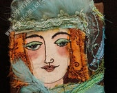 Astrika, applique embroidered picture