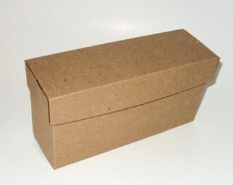 Gift Box, Black, White, or Kraft Miniature Paper shoe Box