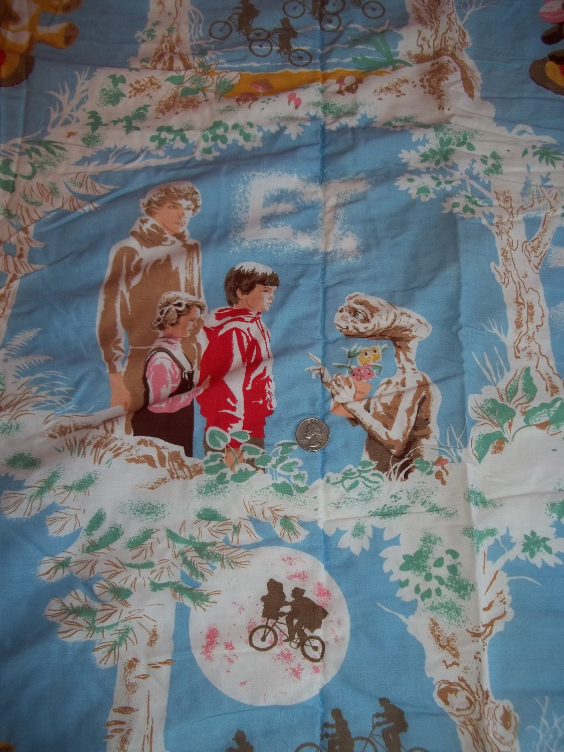 Vintage E T Sleeping Bag Or Bed Spread