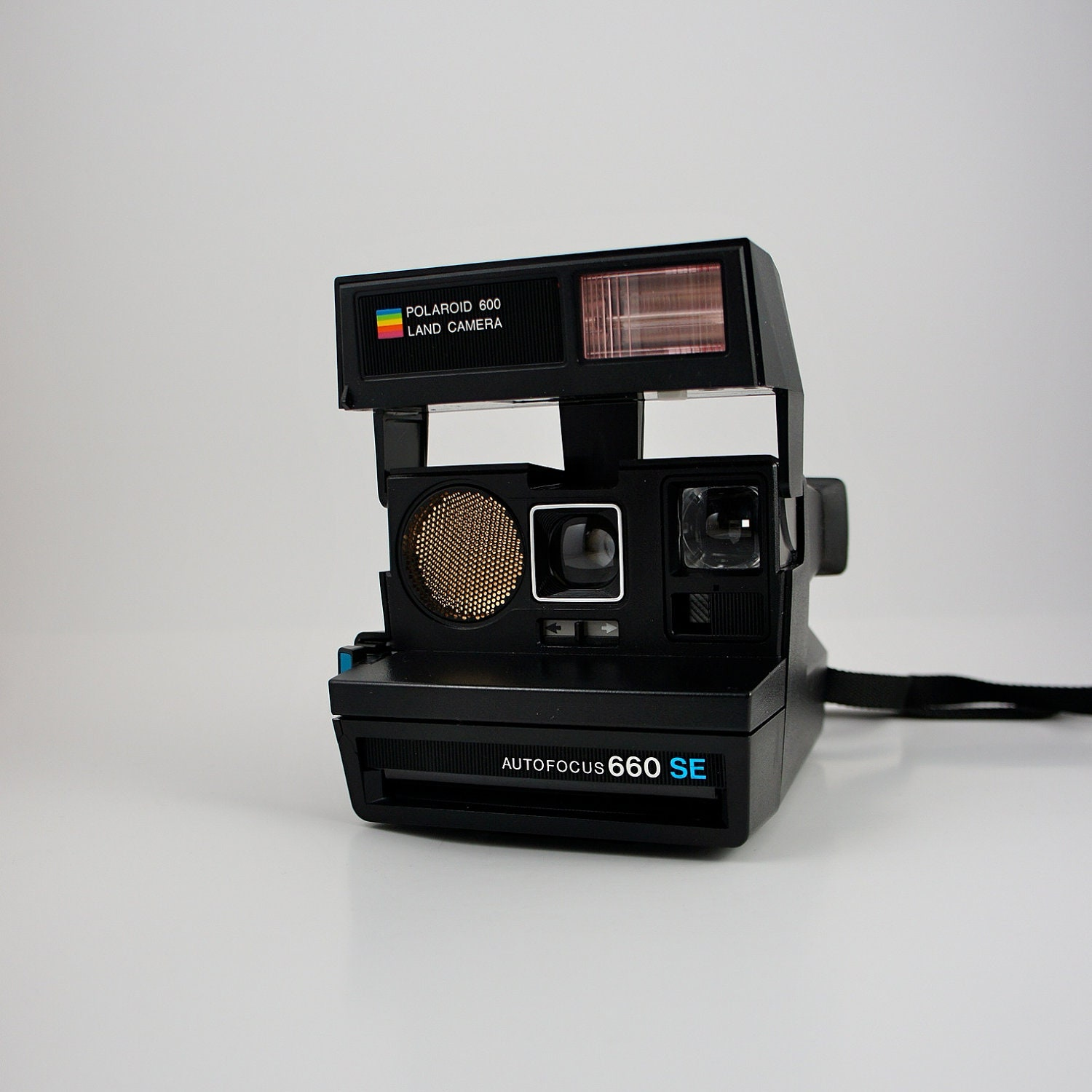 polaroid autofocus 660 se land camera 600 film by boomvintage. Black Bedroom Furniture Sets. Home Design Ideas