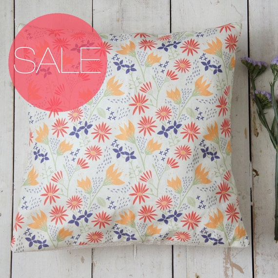 Sale Half Price Decorative Cushion Cover Floral Design Free Shipping