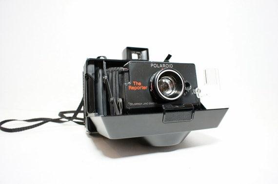 Rare The Reporter  Working Polaroid Camera - Film Tested