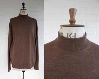 Vintage John Smedley  Wool Turtle Neck  Size XL